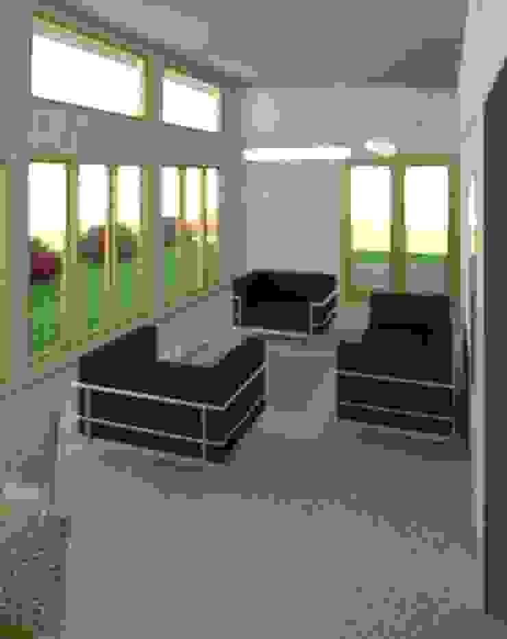 Sala de estar acogedora Livings de estilo rústico de Constructora Alonso Spa Rústico