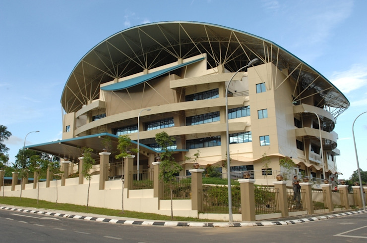Lembaga Hasil Dalam Negeri Cawangan Sandakan Chin Architect Study/office Turquoise