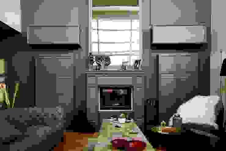 salon Modern Oturma Odası gaedesign Modern Ahşap Ahşap rengi