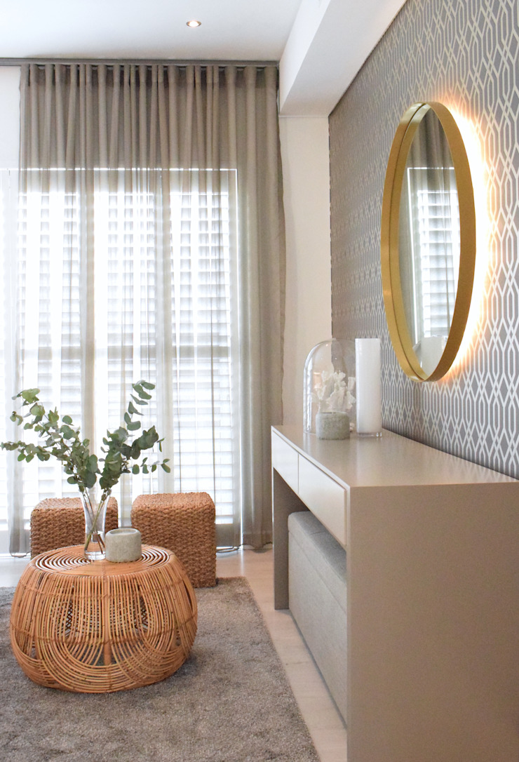 Bryanston Residential Interior: tropical  by Design Air, Tropical