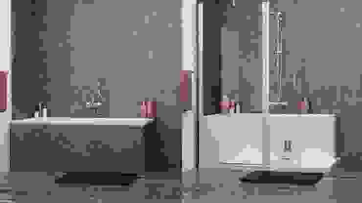 Cambio de bañera por ducha en 48 h de Banium-Reformas del Hogar en Madrid Moderno