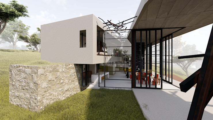 Residencial Sculpture by Inline Spaces Pty Ltd