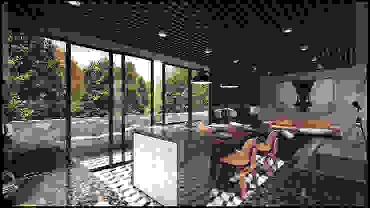modern  by 7-17 ARQUITECTOS, Modern Wood Wood effect