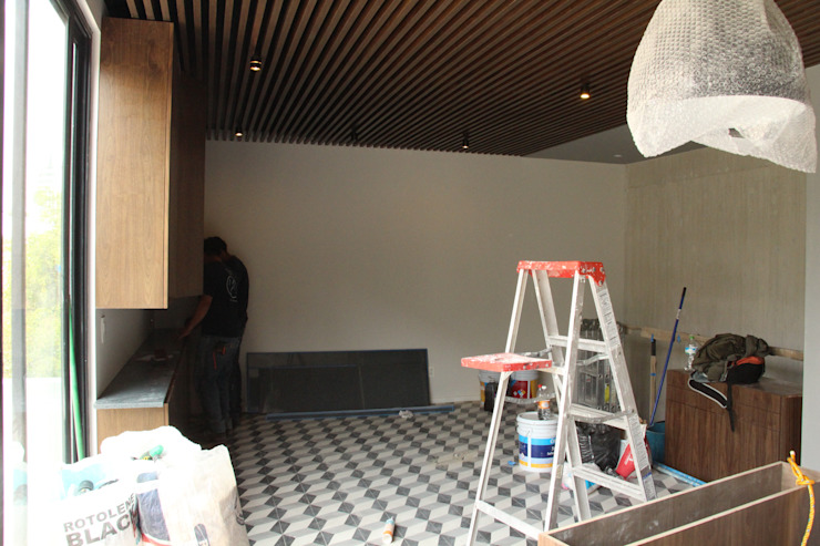 by 7-17 ARQUITECTOS Modern Tiles