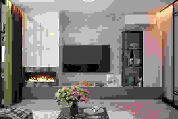 Студия интерьерного дизайна happy.design Вітальня