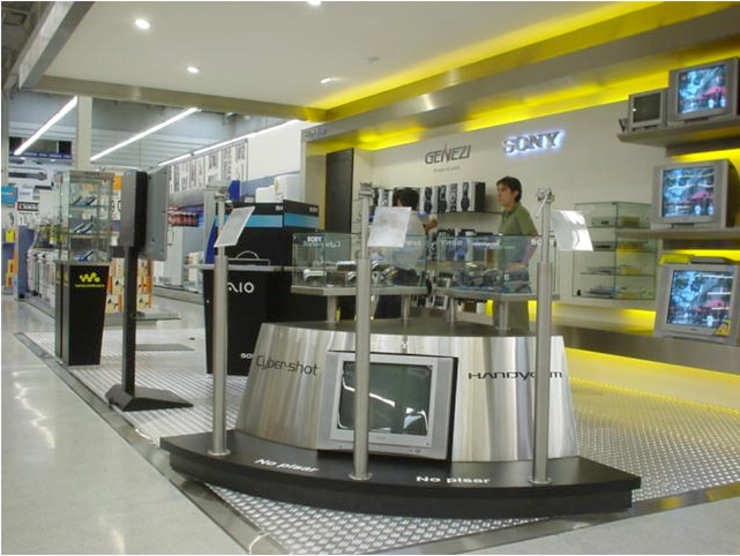 LOCAL COMERCIAL ALAMEDA de AOG Moderno Aluminio/Cinc