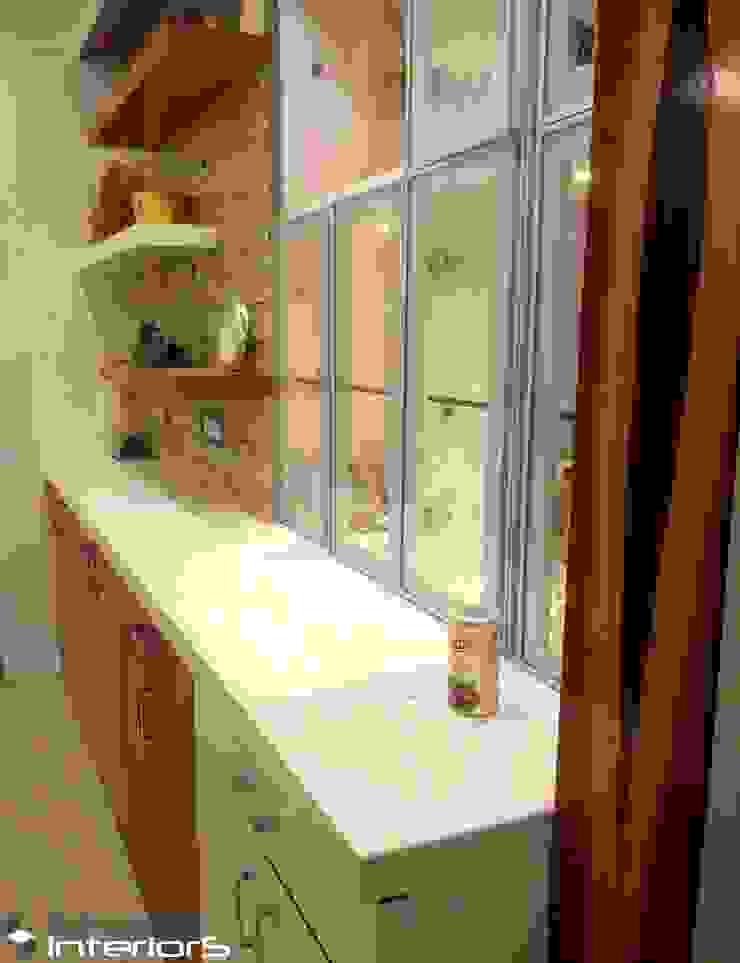 Corian solid surface counter top Shape Interiors Dining roomCrockery & glassware Quartz White