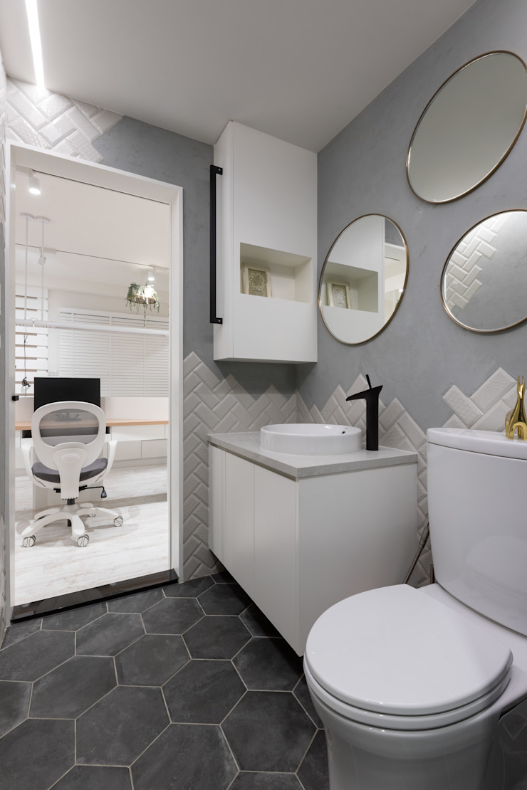 衛浴 根據 存果空間設計有限公司 現代風