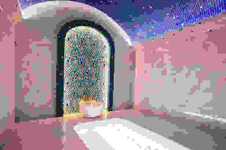 Çilek Spa Design  – Efsun Mimarlık Buhar Odası Projesi:  tarz Hamam,