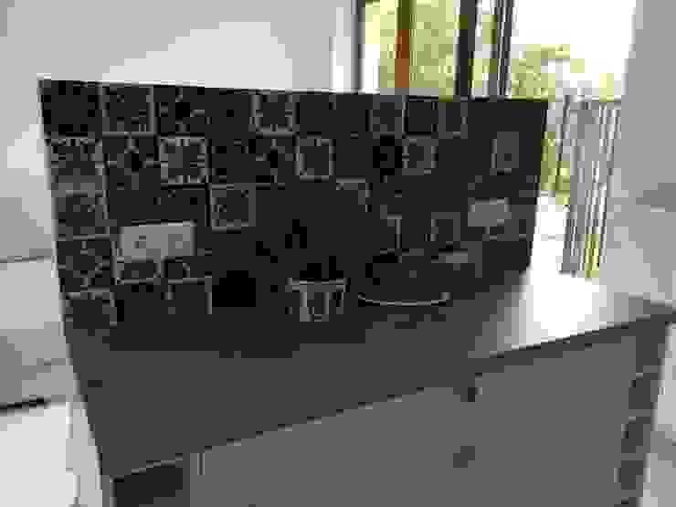 Cerames Cocinas de estilo clásico Cerámico Azul