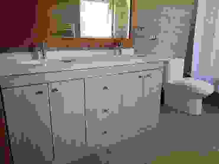 Diseño de Cocina, baños, loggia y closet en Osorno Quo Design - Diseño de muebles a medida - Puerto Montt Baños de estilo moderno