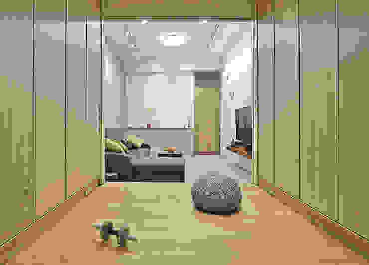 多功能空間 Minimalist gym by 森畊空間設計 Minimalist Wood-Plastic Composite