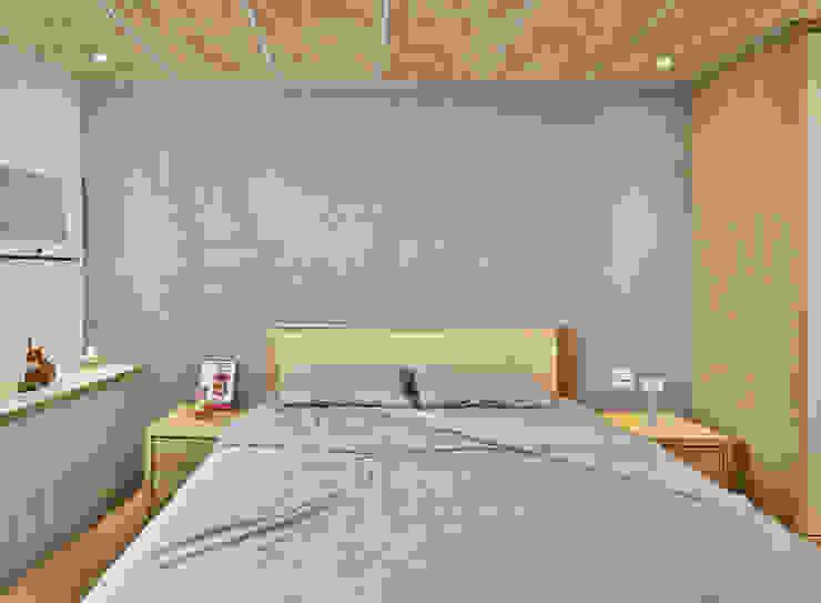Minimalist walls & floors by 森畊空間設計 Minimalist Concrete