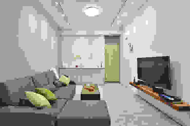 客廳空間 根據 森畊空間設計 簡約風 MDF