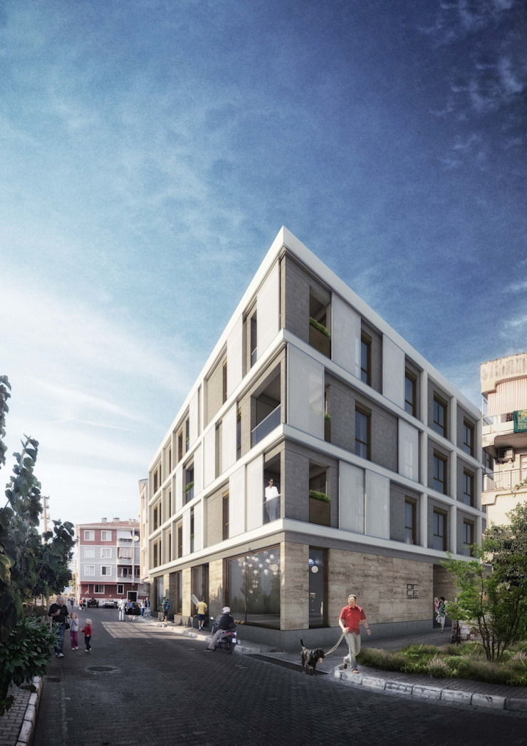 by Orby İnşaat Mimarlık Modern Concrete