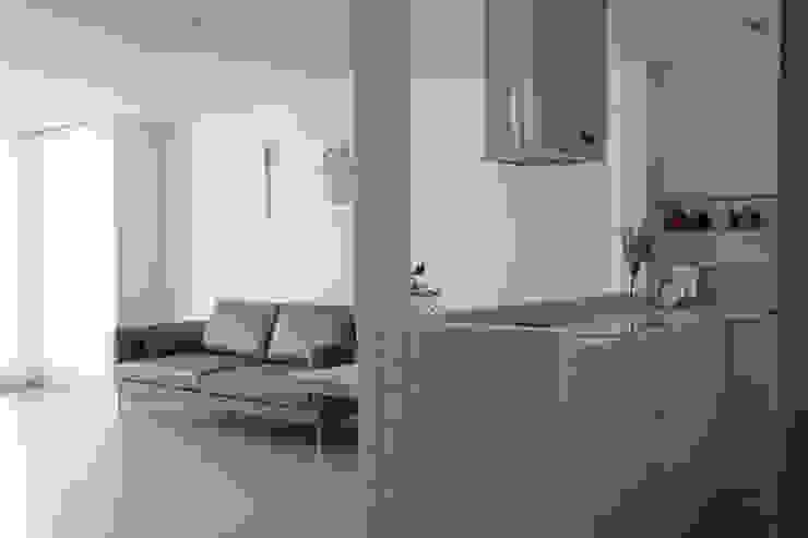 도화 현대 29평 아파트 인테리어 모던스타일 주방 by 카멜레온디자인 모던
