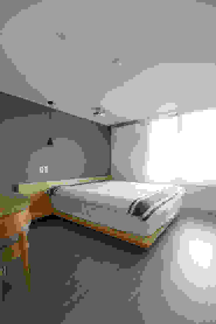 도화 현대 29평 아파트 인테리어 모던스타일 침실 by 카멜레온디자인 모던