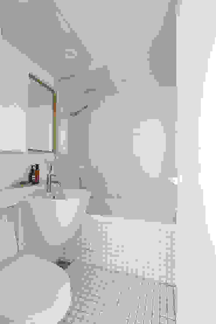 도화 현대 29평 아파트 인테리어 모던스타일 욕실 by 카멜레온디자인 모던