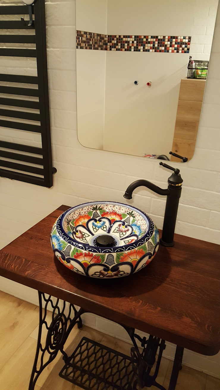 Cerames Colonial style bathrooms Ceramic Multicolored