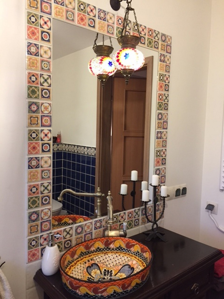 Cerames Colonial style bathrooms