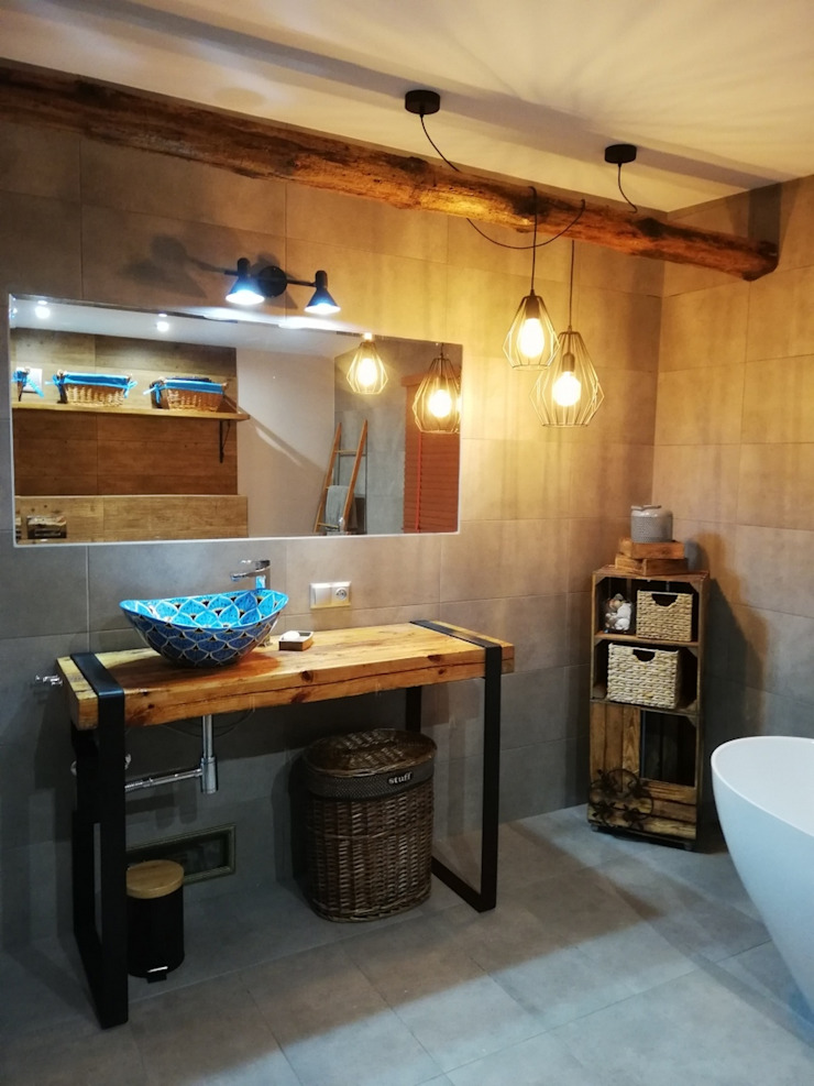 Cerames Industrial style bathrooms