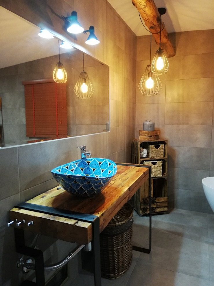 Cerames Industrial style bathrooms