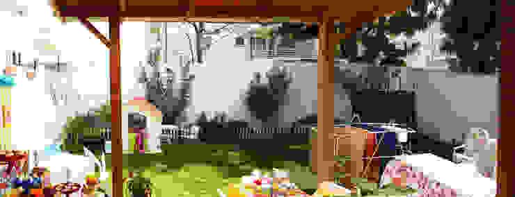 ANTES DEL JARDÍN Jardines de estilo minimalista de HZ ARQUITECTOS SANTIAGO DISEÑO COCINAS JARDINES PAISAJISMO REMODELACIONES OBRA Minimalista