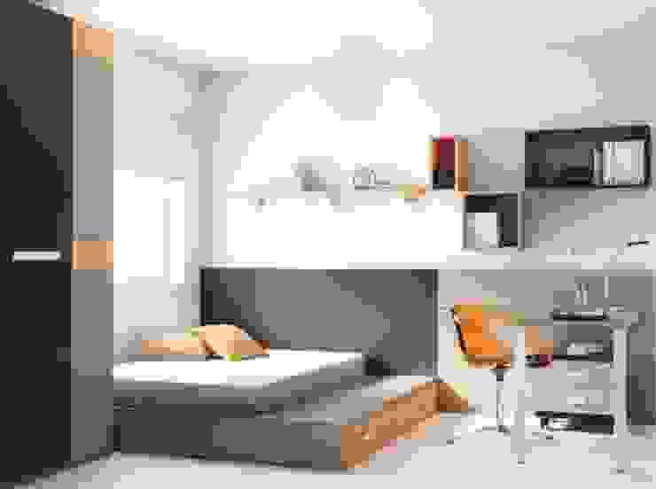 Mobiliario para dormitorio juvenil en Palencia de MUEBLES GATON VALLE, amueblamiento de espacios en Palencia hacemos que los ambientes que den acogedores con encanto y un estilo diferente Moderno