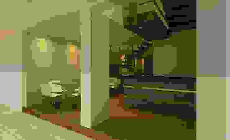 Diseño de lobby de CAMALEON DISEÑOS Minimalista