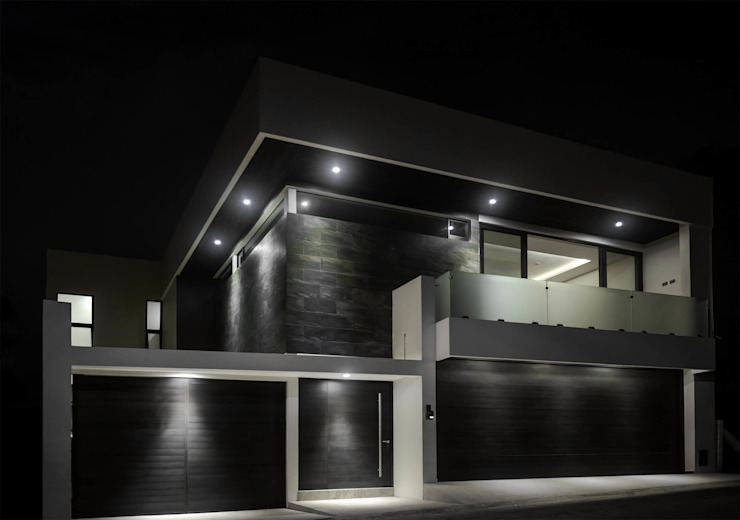 GRUPO WALL ARQUITECTURA Y DISEÑO SA DE CV Single family home Ceramic Grey