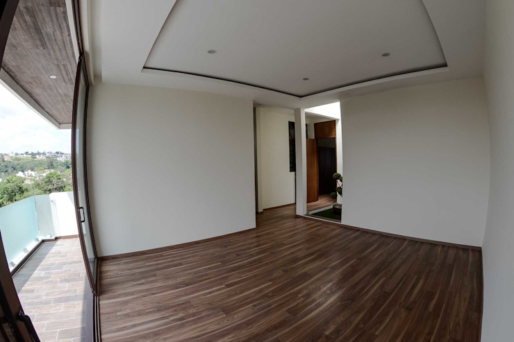 Bedroom by GRUPO WALL ARQUITECTURA Y DISEÑO SA DE CV, Modern Engineered Wood Transparent