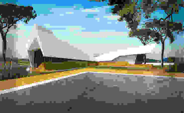 Casas unifamilares de estilo  de Office of Feeling Architecture, Lda