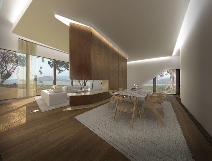 Comedores de estilo  de Office of Feeling Architecture, Lda