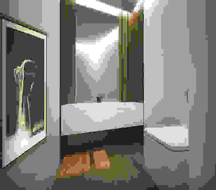 Habitação Unifamiliar T4 com Piscina - Levitada Tradição Office of Feeling Architecture, Lda Casas de banho modernas
