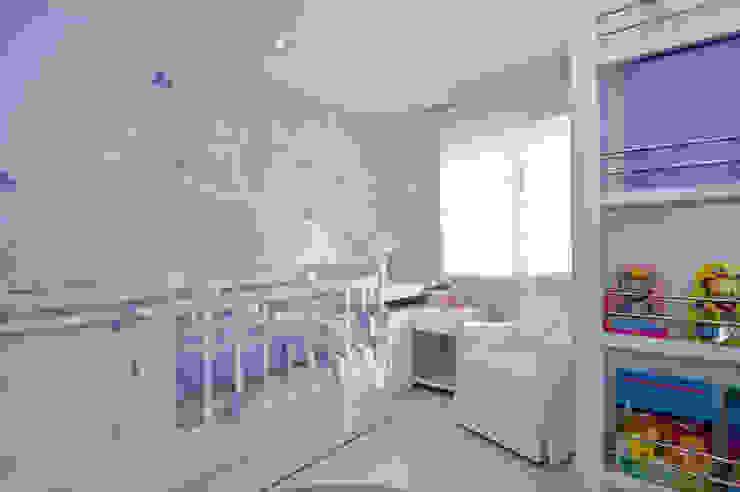 Paleta de cores suave para um quarto de menina Quarto infantil moderno por BG arquitetura | Projetos Comerciais Moderno