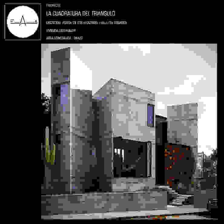 by ESQUEMA ARQUITECTURA Minimalist Concrete