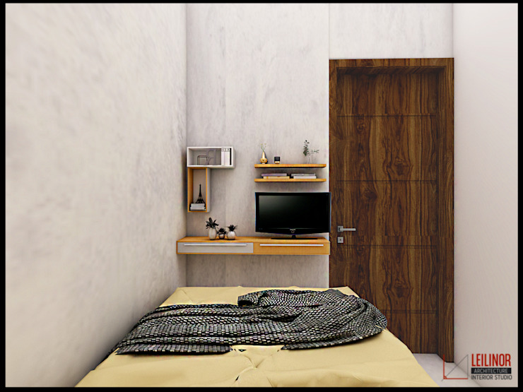 CV Leilinor Architect Small bedroom Grey