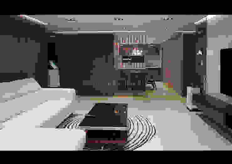Salones de estilo moderno de Design Partner Blue box Moderno Azulejos