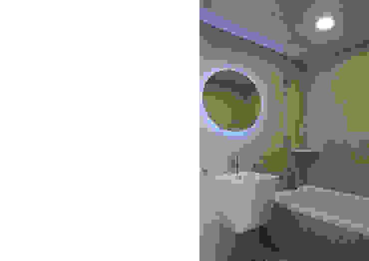 욕실 디자인 모던스타일 욕실 by Design Partner Blue box 모던 타일