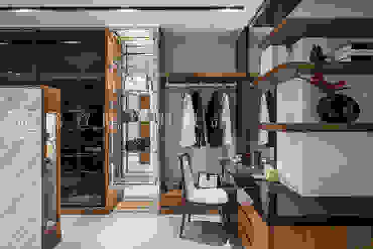 豪邸自建/和緯鼎園-韻墨 根據 SING萬寶隆空間設計 現代風