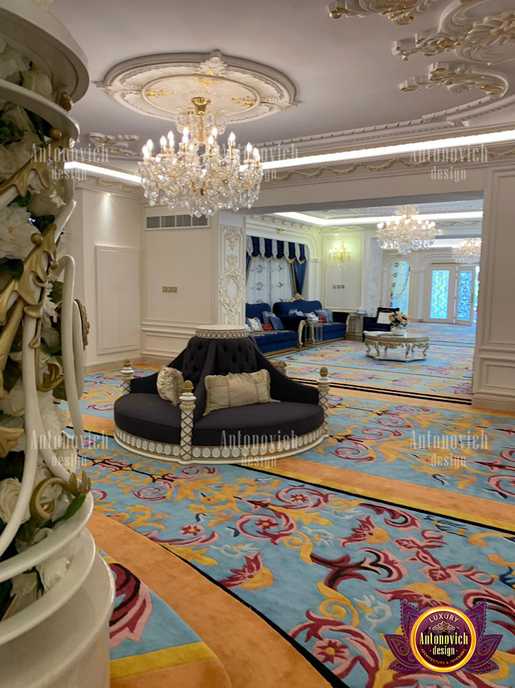 Comlplete Full Implementation of Stunning Interior Designs by Luxury Antonovich Design
