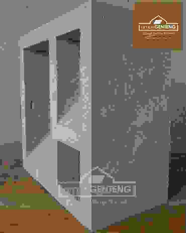 HP/WA: 08122833040 - Roster Beton Bekasi - Omah Genteng Kantor & Toko Minimalis Oleh Omah Genteng Minimalis Beton
