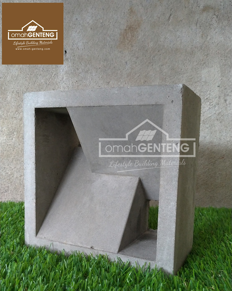 HP/WA: 08122833040 - Roster Beton 20 x 20 - Omah Genteng Hotel Minimalis Oleh Omah Genteng Minimalis Beton