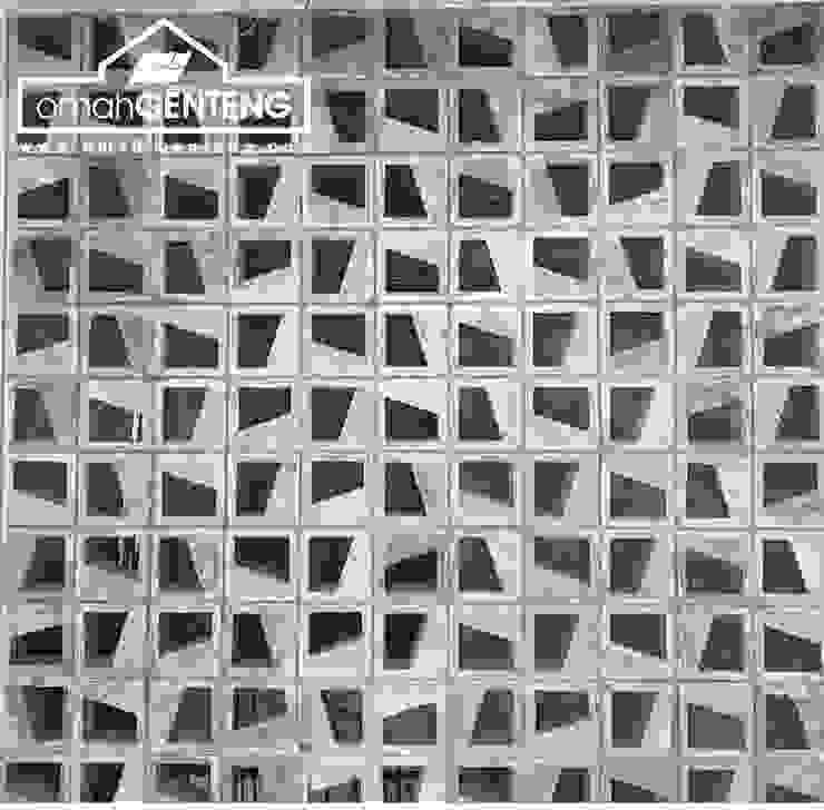 HP/WA: 08122833040 - Roster Beton Cimahi - Omah Genteng Kantor & Toko Minimalis Oleh Omah Genteng Minimalis Beton