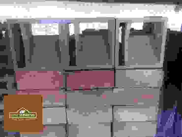 HP/WA: 08122833040 - Roster Beton Cirebon - Omah Genteng Ruang Komersial Minimalis Oleh Omah Genteng Minimalis Beton