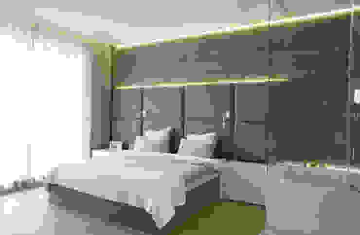 t design Scandinavian style bedroom