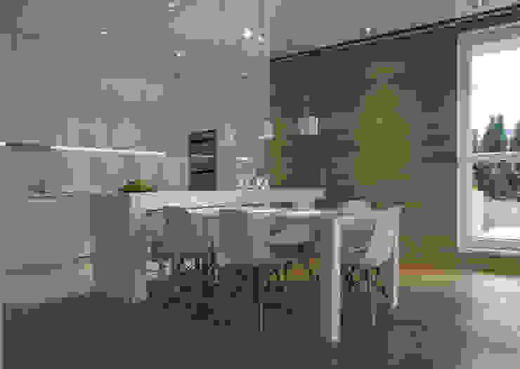 t design Scandinavian style kitchen