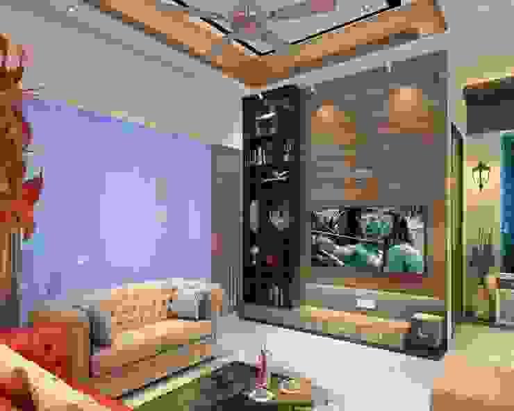 Living Room Design Modern living room by Square 4 Design & Build Modern