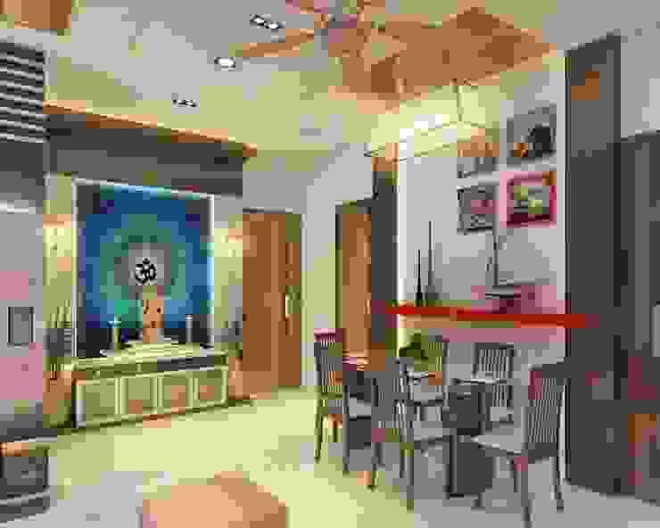 Dining Room design Modern dining room by Square 4 Design & Build Modern
