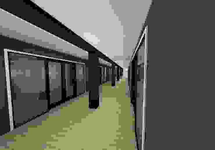 visualización 3D PROYECTO de s+s sady silva Arquitectura Moderno Aglomerado